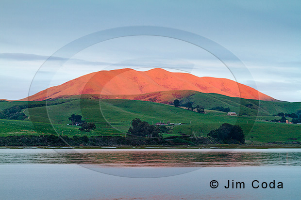 Photo of Black Mountain from Inverness.