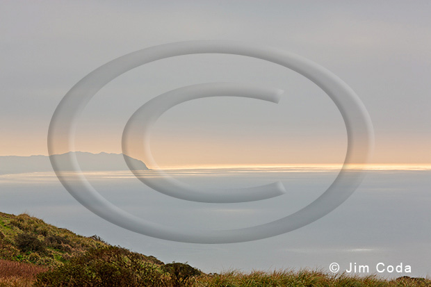 Photo of Point Reyes from the Tomales Peninsula.